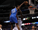 Oklahoma City Thunder v Dallas Mavericks - Game Two, Dallas, TX - MAY 19: Kevin Durant and Brendan  Photo by Tom Pennington