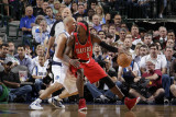 Portland Trail Blazers v Dallas Mavericks - Game One, Dallas, TX - APRIL 16: Gerald Wallace, Jason  Photographie par Danny Bollinger