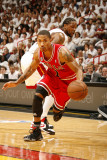 Chicago Bulls v Miami Heat - Game Four, Miami, FL - MAY 24: Derrick Rose Photographic Print by Issac Baldizon