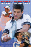 Novak Djokovic Tennis Sports Poster Prints