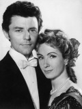 G&#233;rard Philipe and Danielle Darrieux: Pot Bouille, 1957 Photographic Print by  Limot