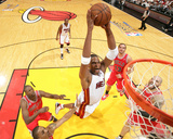 Chicago Bulls v Miami Heat - Game Three, Miami, FL - MAY 22: Chris Bosh Photographic Print by Victor Baldizon