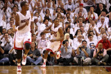 Chicago Bulls v Miami Heat - Game Four, Miami, FL - MAY 24: Mario Chalmers Photographic Print by Mike Ehrmann