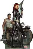 Wolverine & Black Widow Classic- Marvel Lifesize Standup Cardboard Cutouts