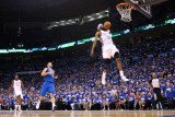 Dallas Mavericks v Oklahoma City Thunder - Game Three, Oklahoma City, OK - MAY 21: James Harden Photographic Print by Christian Peterson