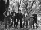 Jean Gabin, Charles Vanel, Raymond Aimos, Charles Dorat, Rafael Medina, Micheline Cheirel: La Belle Photographic Print by  Limot