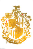 Hufflepuff Crest - Harry Potter and the Deathly Hallows Wall Decal