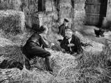 Jean Gabin, Pierre Fresnay et Noël-Noël : Les Vieux de la Vieille, 1960 Photographie par Marcel Dole