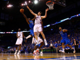 Dallas Mavericks v Oklahoma City Thunder - Game Four, Oklahoma City, OK - MAY 23: Jason Terry and N Photographic Print by Ronald Martinez