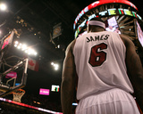 Chicago Bulls v Miami Heat - Game Four, Miami, FL - MAY 24: LeBron James Photographic Print by Marc Serota