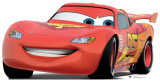 Cars 2 - Lightning McQueen Stand Up