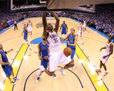 Dallas Mavericks v Oklahoma City Thunder - Game Four, Oklahoma City, OK - MAY 23: Kevin Durant Photographic Print by Ronald Martinez