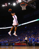 Dallas Mavericks v Oklahoma City Thunder - Game Four, Oklahoma City, OK - MAY 23: Russell Westbrook Photographic Print by Ronald Martinez