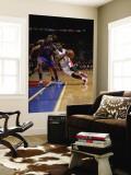 New York Knicks v Detroit Pistons: Rodney Stuckey and Amar'e Stoudemire Wall Mural by Allen Einstein