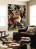 Cleveland Cavaliers v Indiana Pacers: Solomon Jones and Jamario Moon Wall Mural by Ron Hoskins