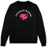 Sweatshirt: I Love Lucy - I'd Rather?. Camisetas