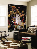 Miami Heat v Milwaukee Bucks: Andrew Bogut, Zydrunas Ilgauskas and Carlos Arroyo Wall Mural by Jonathan Daniel