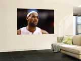 New Orleans Hornets v Miami Heat: LeBron James Wall Mural by  Mike