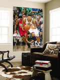 New Jersey Nets v Utah Jazz: Deron Williams and Devin Harris Wall Mural by Melissa Majchrzak