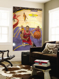 Chicago Bulls v Los Angeles Lakers: Derrick Rose Wall Mural by Andrew Bernstein