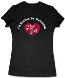Juniors: I Love Lucy - I'd Rather.. T-Shirt