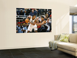 Memphis Grizzlies v Utah Jazz: C.J. Miles and Rudy Gay Wall Mural by Melissa Majchrzak
