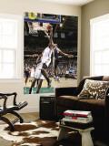 Oklahoma City Thunder v Utah Jazz: Ronnie Price and James Harden Wall Mural by Melissa Majchrzak