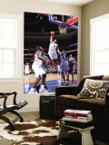 Charlotte Bobcats v Philadelphia 76ers: Andre Iguodala and Kwame Brown Wall Mural by David Dow