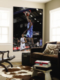 Tulsa 66ers v Texas Legends: Larry Owens and Antonio Daniels Wall Mural by Layne Murdoch