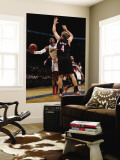 Portland Trail Blazers v Washington Wizards: John Wall and Sean Marks Wall Mural by Ned Dishman
