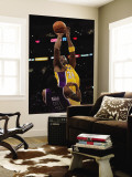 Sacramento Kings v Los Angeles Lakers: Kobe Bryant and Luther Head Wall Mural by Jeff Gross