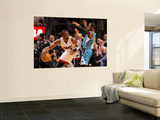 New Orleans Hornets v Miami Heat: Dwyane Wade and Chris Paul Wall Mural by  Mike