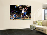 Golden State Warriors v Utah Jazz: Ronnie Price and David Lee Wall Mural by Melissa Majchrzak