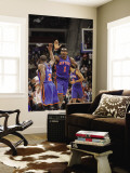 New York Knicks v Detroit Pistons: Amar'e Stoudemire and Raymond Felton Wall Mural by Allen Einstein