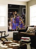 New York Knicks v Detroit Pistons: Amar'e Stoudemire and Raymond Felton Wall Mural by Allen Einstein