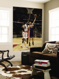 Los Angeles Lakers v Toronto Raptors: Pau Gasol and Solomon Alabi Wall Mural by Ron Turenne