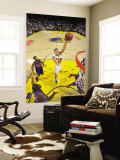 New York Knicks v Golden State Warriors: Andris Biedrins Wall Mural by Rocky Widner