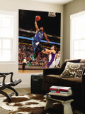Minnesota Timberwolves v Phoenix Suns: Corey Brewer and Goran Dragic Wall Mural by Barry Gossage