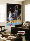 Charlotte Bobcats v New Orleans Hornets: Nazr Mohammed and David West Wall Mural by Layne Murdoch