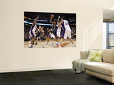 Indiana Pacers v Phoenix Suns: T.J. Ford, Goran Dragic and Channing Frye Wall Mural by Christian Petersen
