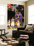 New York Knicks v Golden State Warriors: Landry Fields and Wilson Chandler Wall Mural by Rocky Widner