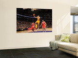 Atlanta Hawks v Los Angeles Lakers, Los Angeles, CA - February 22: Steve Blake Wall Mural by Andrew Bernstein