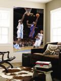 New York Knicks v Denver Nuggets: Raymond Felton and Chauncey Billups Wall Mural by Garrett Ellwood