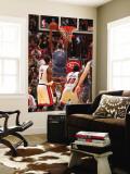 Charlotte Bobcats v Miami Heat: Tyrus Thomas Wall Mural by Victor Baldizon