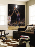 Atlanta Hawks v Detroit Pistons: Al Horford and Chris Wilcox Wall Mural by Allen Einstein