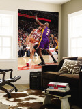 Los Angeles Lakers v Chicago Bulls: Joakim Noah and Lamar Odom Wall Mural by Andrew Bernstein