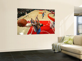 Oklahoma City Thunder v Chicago Bulls: Carlos Boozer and Nenad Krstic Wall Mural by Joe Murphy