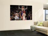 Los Angeles Lakers v New Jersey Nets: Pau Gasol, Brook Lopez and Kris Humphries Wall Mural by Andrew Bernstein