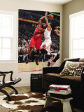 Los Angeles Clippers v Chicago Bulls: Baron Davis and Derrick Rose Wall Mural by Randy Belice