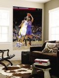 New York Knicks v Golden State Warriors: Wilson Chandler and Monta Ellis Wall Mural by Rocky Widner